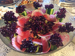 Kırmızı Turplu Patates Salatası