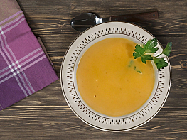 Kerevizli Bal Kabağı Çorbası