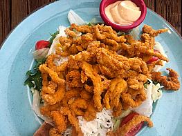 Cajun Tavuk Salata