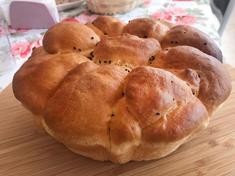 Çiçek Ekmek (Papatya Ekmek)