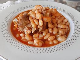 Etli İspir (Badalan) Fasulye Yemeği