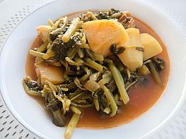 Etli Semizotu Yemeği