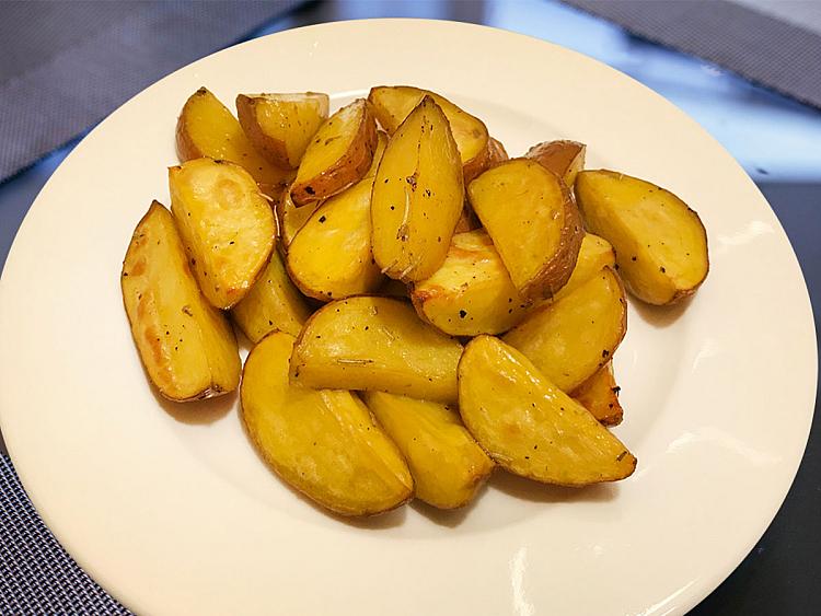 Fırında Tatlı Parmak Patates
