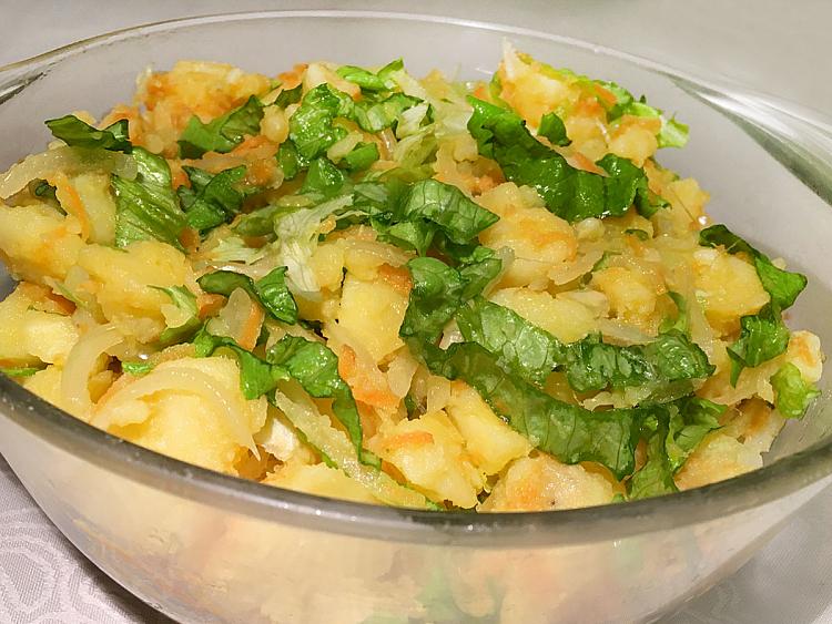 Havuçlu Patates Salatası