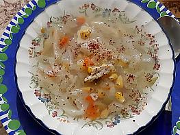 Hindili Lahana Çorbası