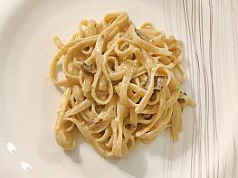 İtalyan Usulü Mantar Soslu Spagetti
