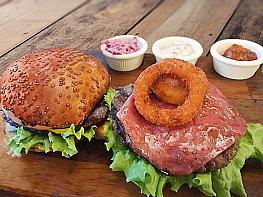 Jambonlu Hamburger