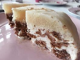 Kakaolu Dondurmalık Pasta