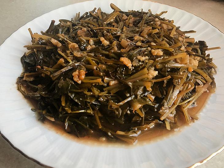 Karahindiba Yemeği
