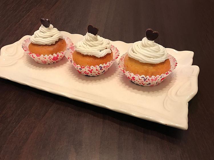 Kremalı Portakallı Muffin