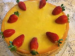 Limonlu Çilekli Cheesecake