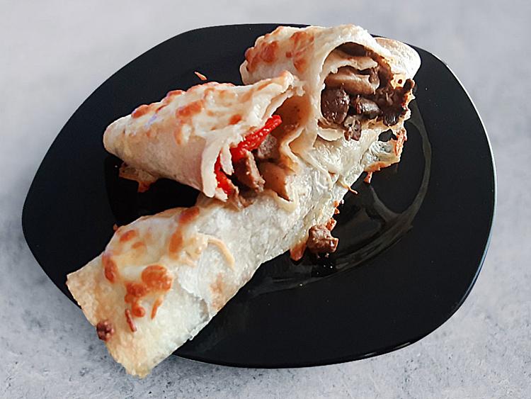 Mantarlı Tortilla