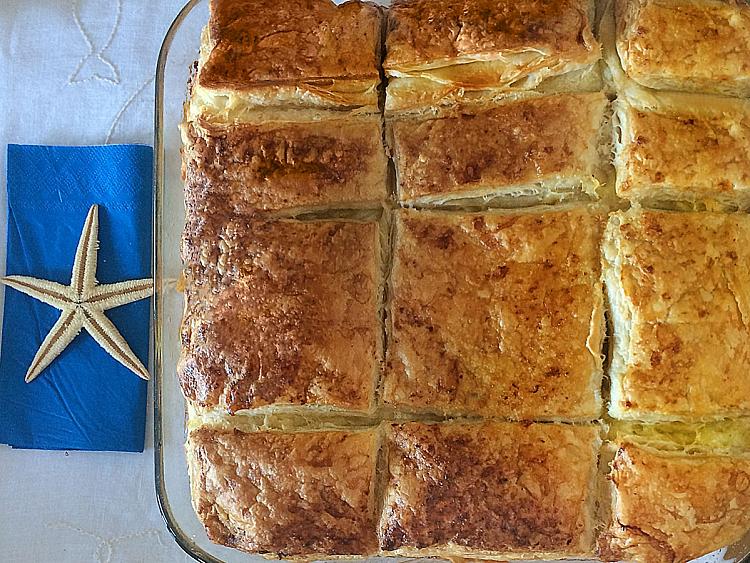 Milföy ve Yufkalı Sodalı Börek