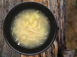 Patatesli Et Suyu Çorbası