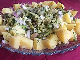Patatesli İç Bakla Salatası