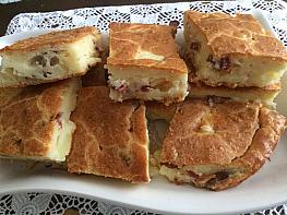 Patatesli Pastırmalı Tuzlu Kek