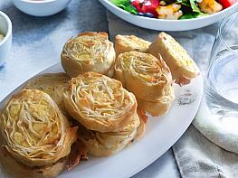 Peynirli Patatesli Buzluk Rulo Börek