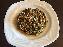 Pirinçli Pazı Yemeği