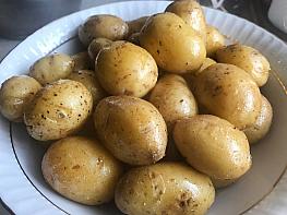 Sarımsaklı Patates