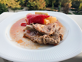 Sebzeli Biftek