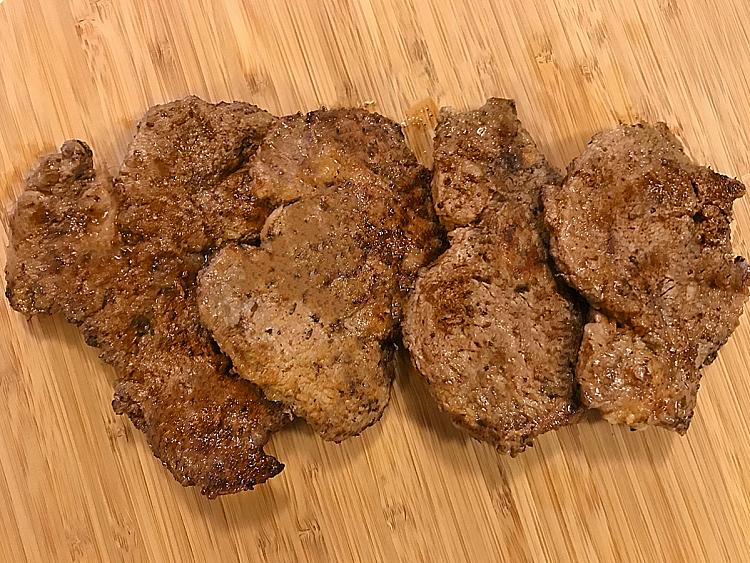 Süt Marineli Biftek