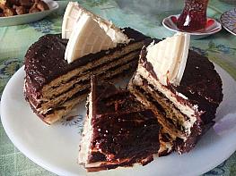 Tahin Helvalı Kağıt Helva Pastası