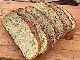 Zeytinyağlı Tam Buğday Ekmeği