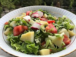 Turplu Patates Salatası