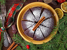 Kakaolu Tarçınlı Kek