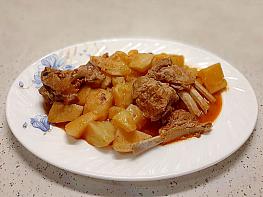 Kemikli Patates Yemeği
