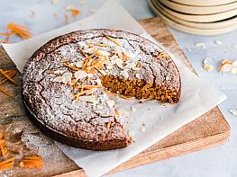File Bademle Havuçlu Tarçınlı Kek