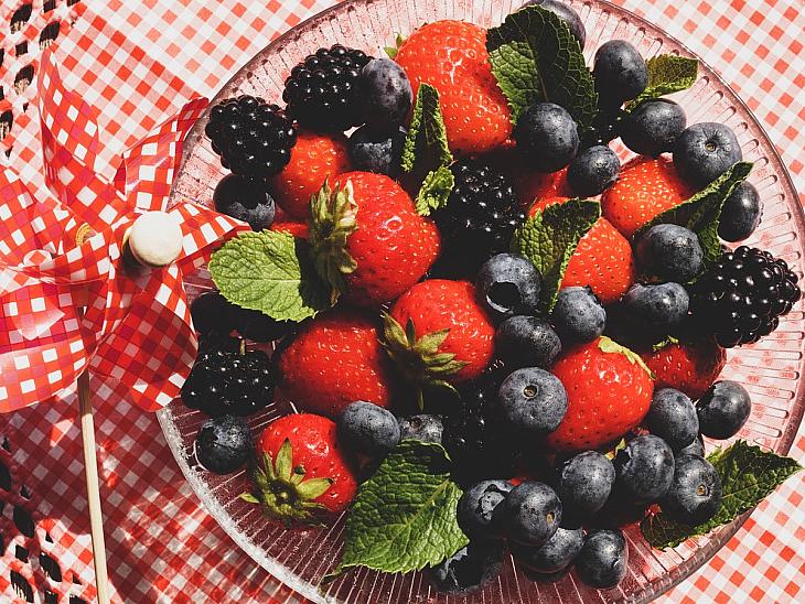 Kırmızı ve Mor Meyvelerin Gücü