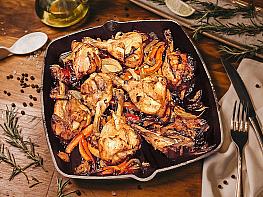 Nar Ekşili Fırın Tavuk