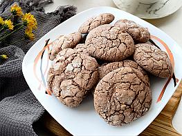 Pudra Şekerli Kakaolu Fındıklı Kurabiye