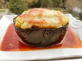 Püreli Patlıcan Kebabı